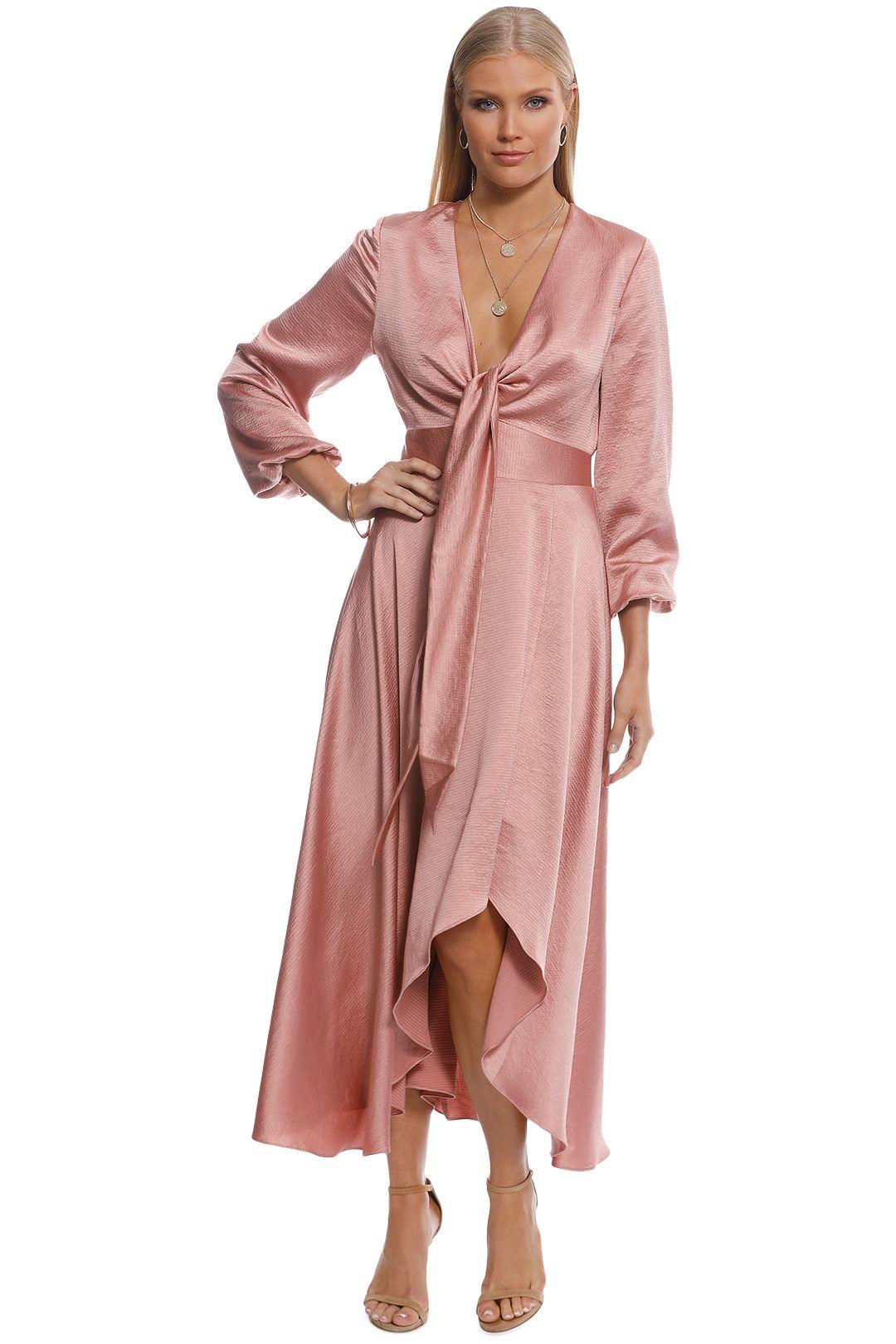 Pasduchas - Mercury Midi Dress - Blush - Front