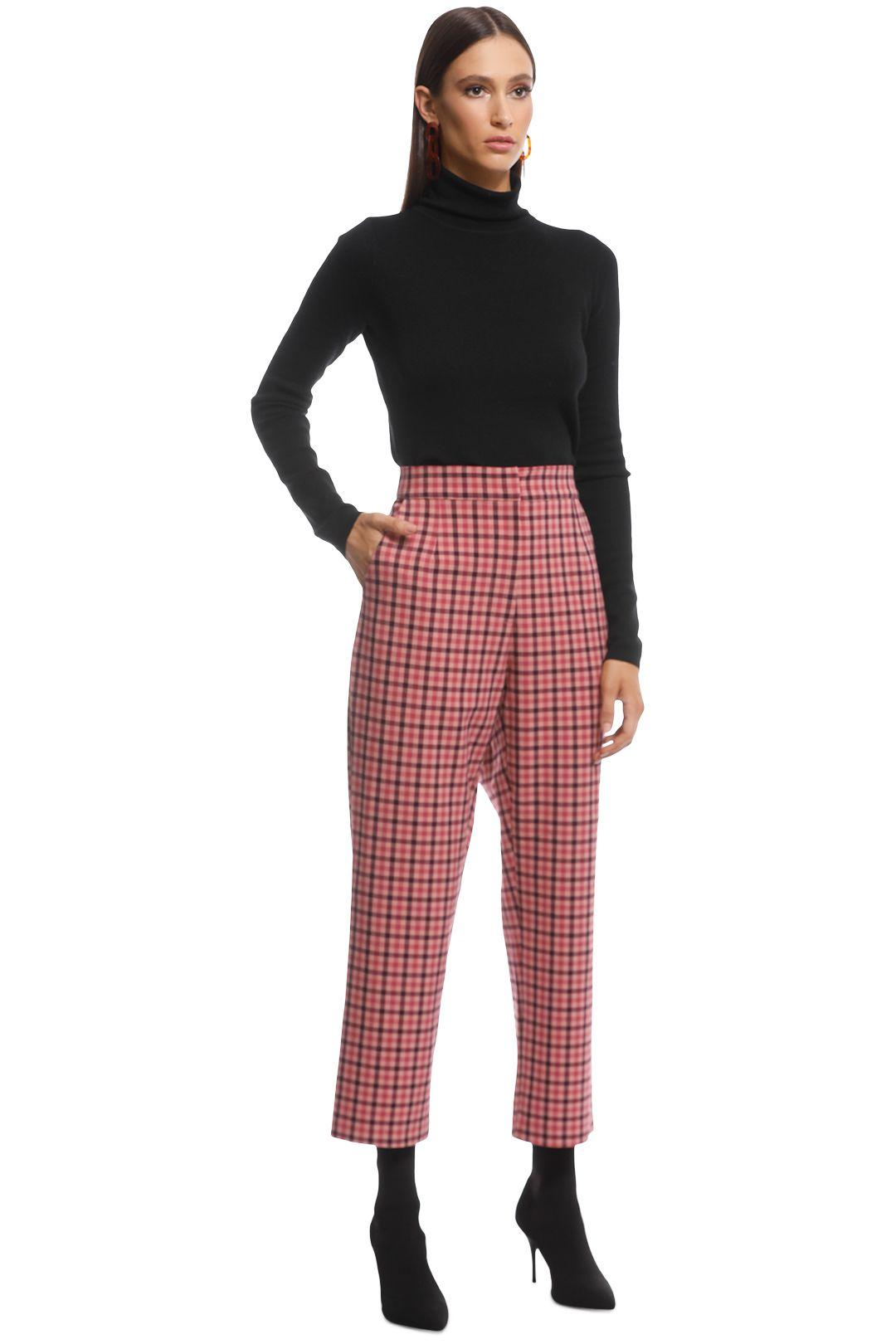 Pasduchas - Ravel Trousers - Pink - Side