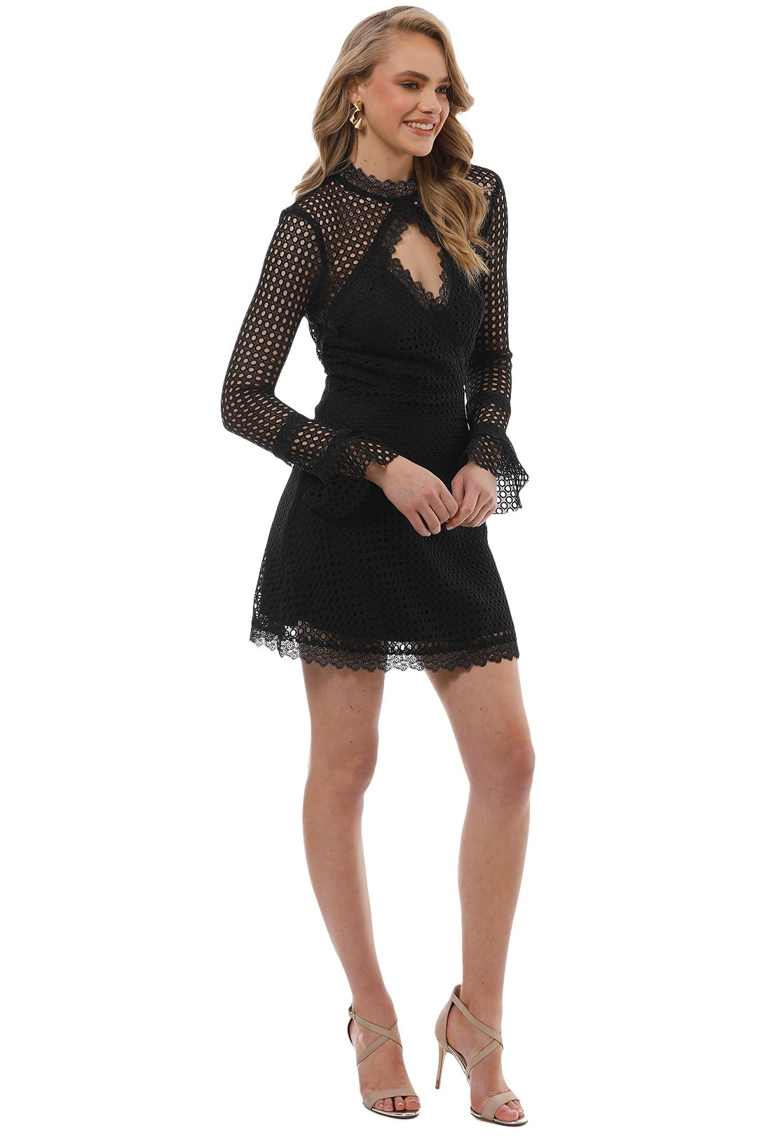 Pasduchas - Reign Dress - Black - Side
