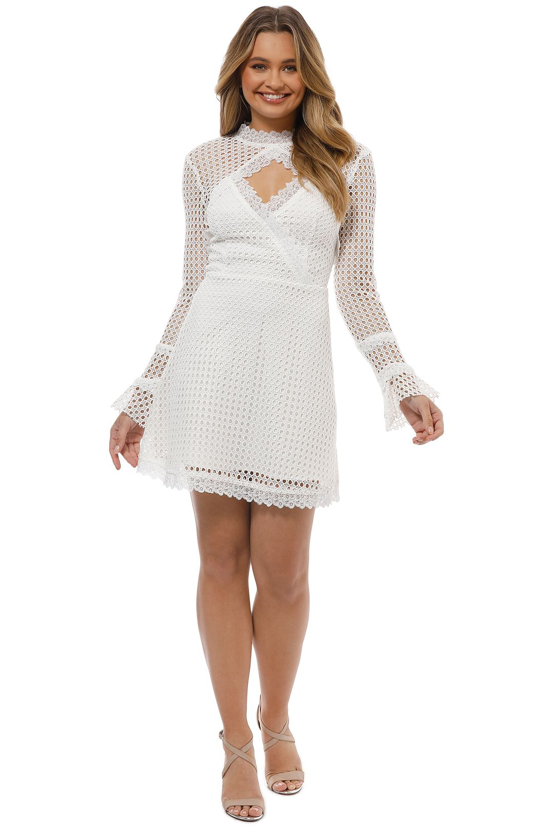 Pasduchas - Reign Dress - Ivory - Front