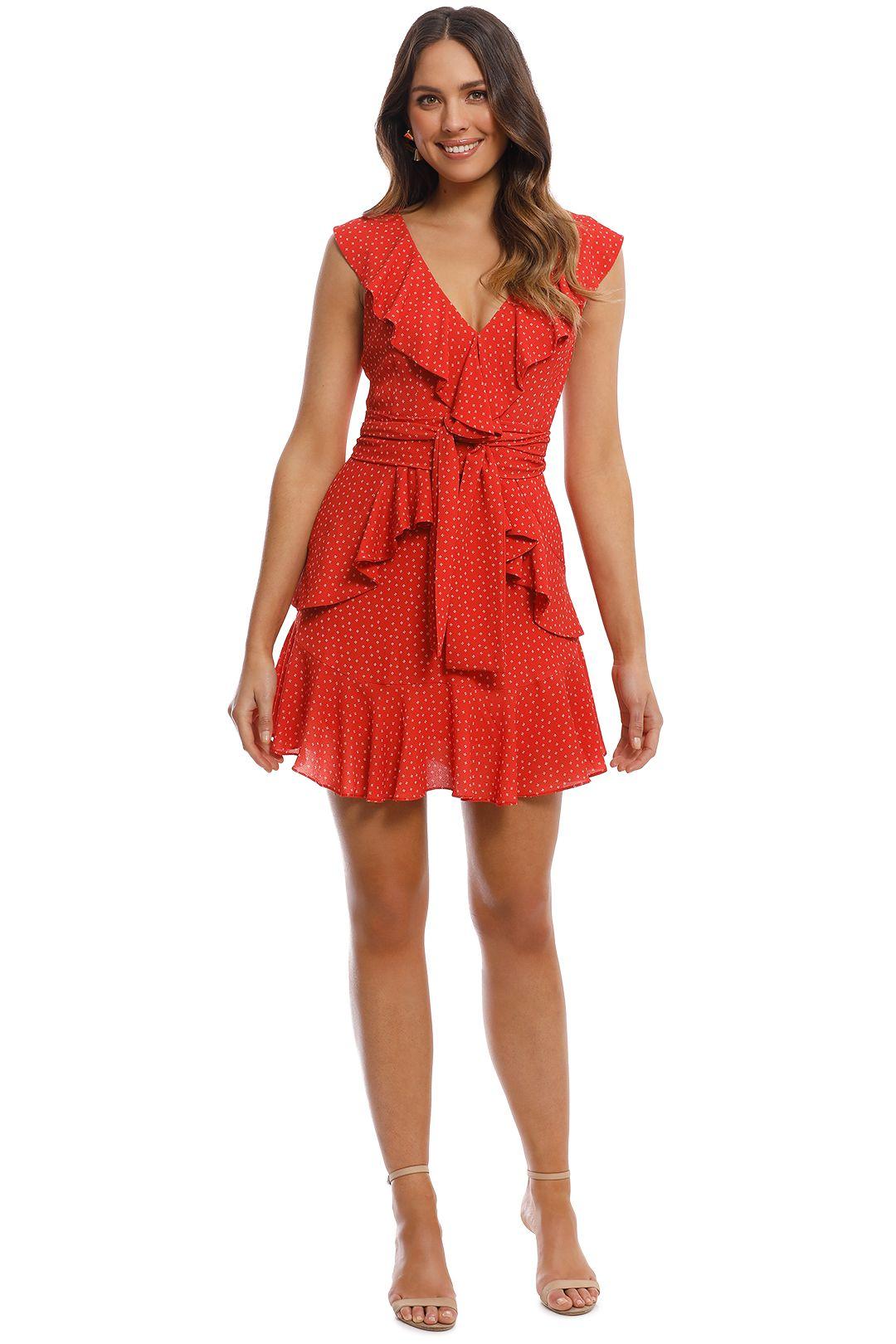 Pasduchas - Terrace Flip Dress - Poppy - Front