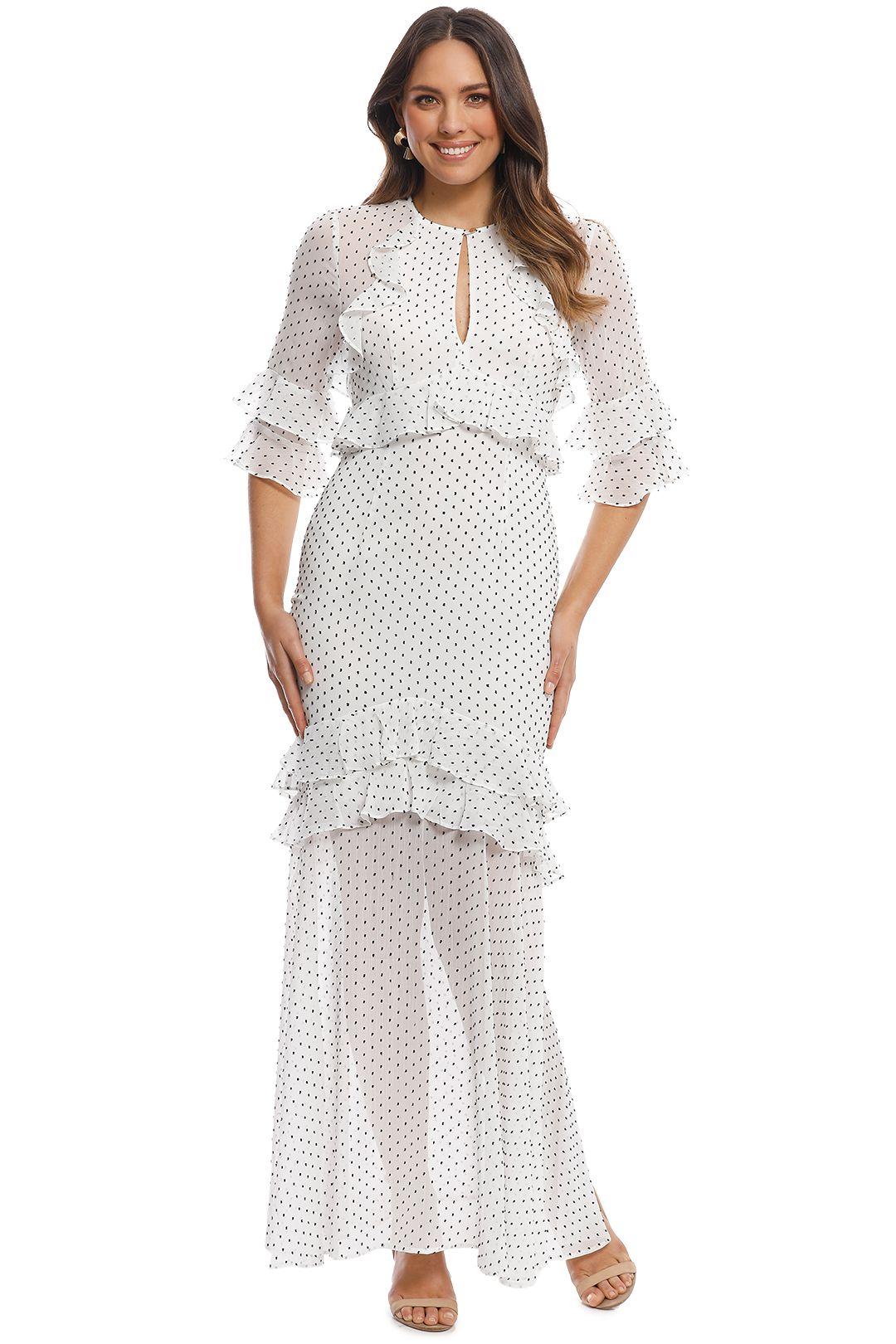 Pasduchas - Trixie Maxi Dress - Ivory - Front