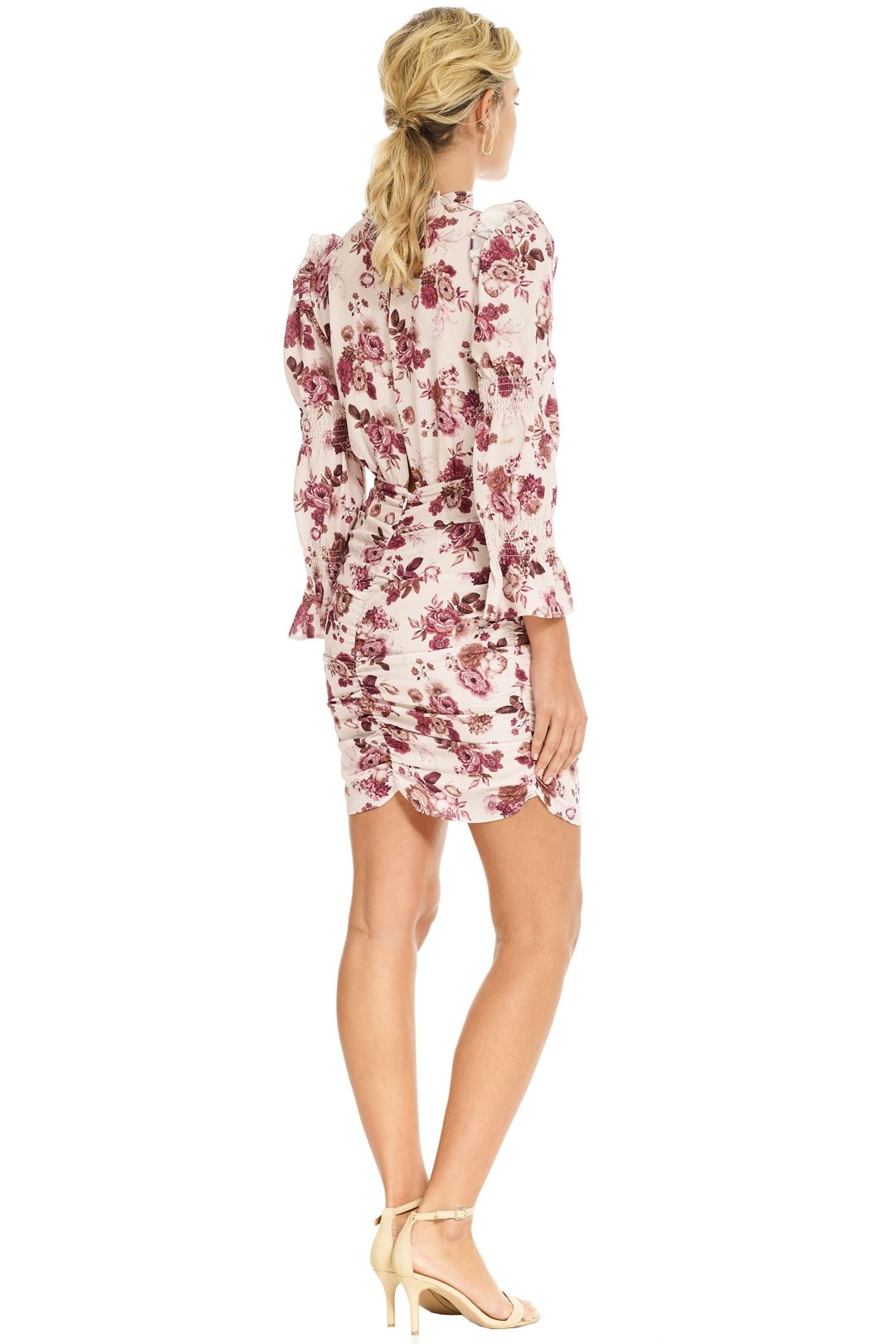 Pasduchas - Valencia Dress - Blush Floral - Back