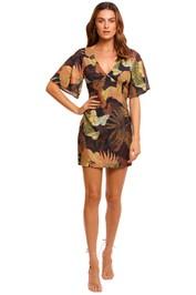 Pasduchas Botanist Mini Dress tropical