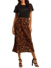 Pasduchas Bronx Skirt Tortoiseshell Midi Length Abstract print
