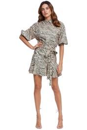 Pasduchas Fierce Shirt Dress animal
