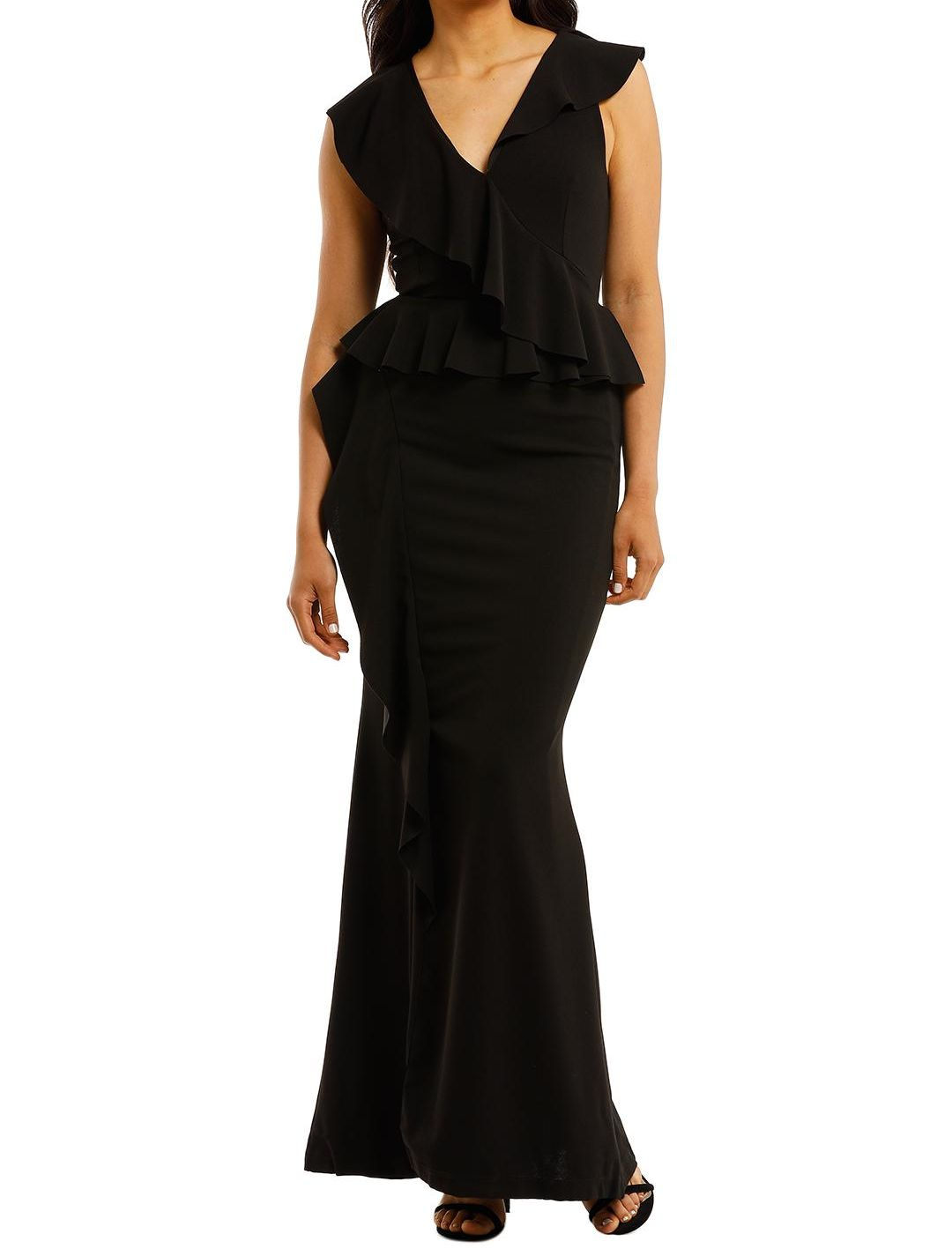 pasduchas_verve_gown_black_sleeveless