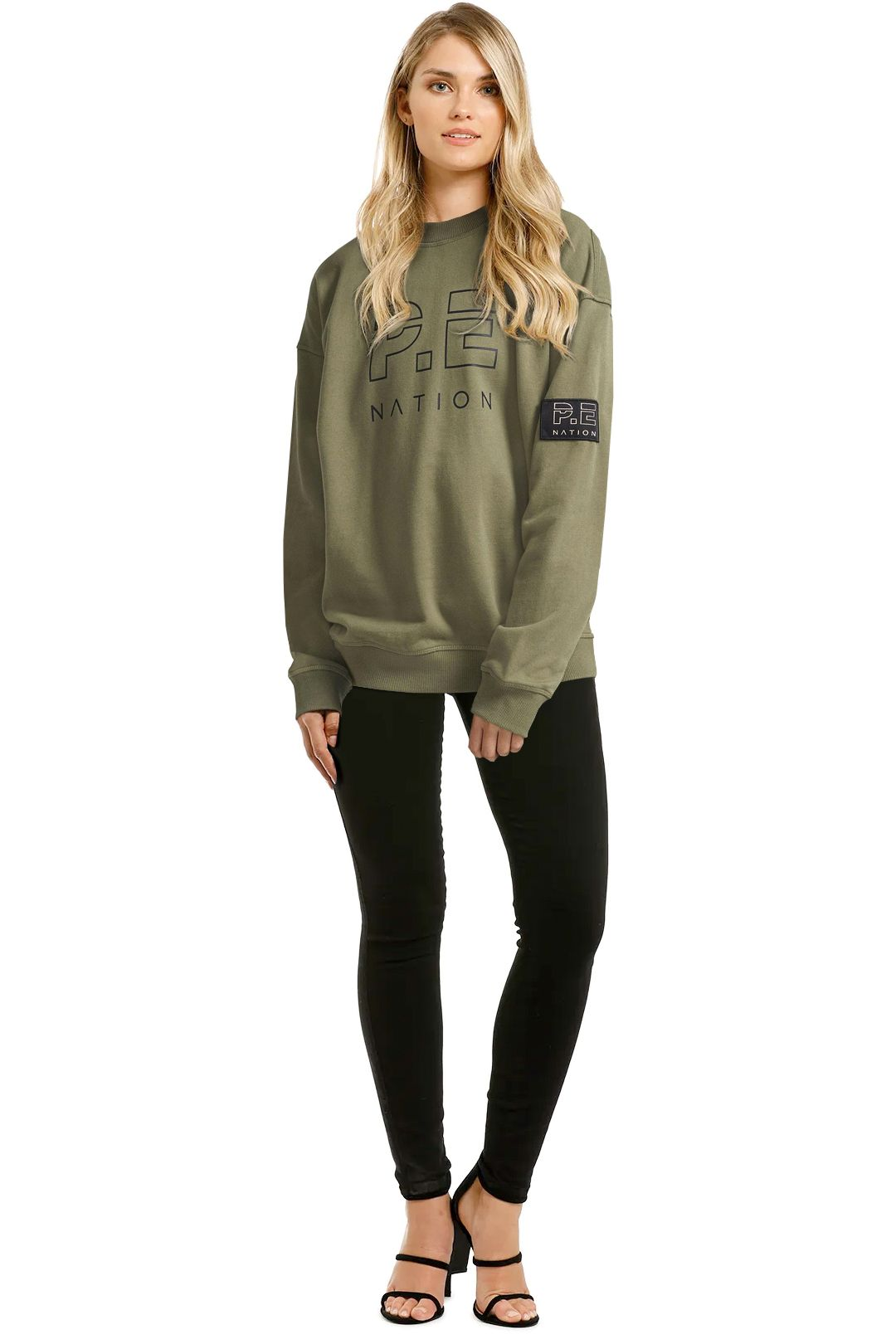 PE-Nation-Heads-Up-Sweat-Olive-Front