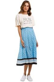 PE Nation Chaser Skirt Blue