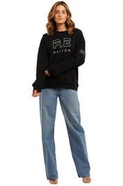 PE Nation Heads Up Sweater Black