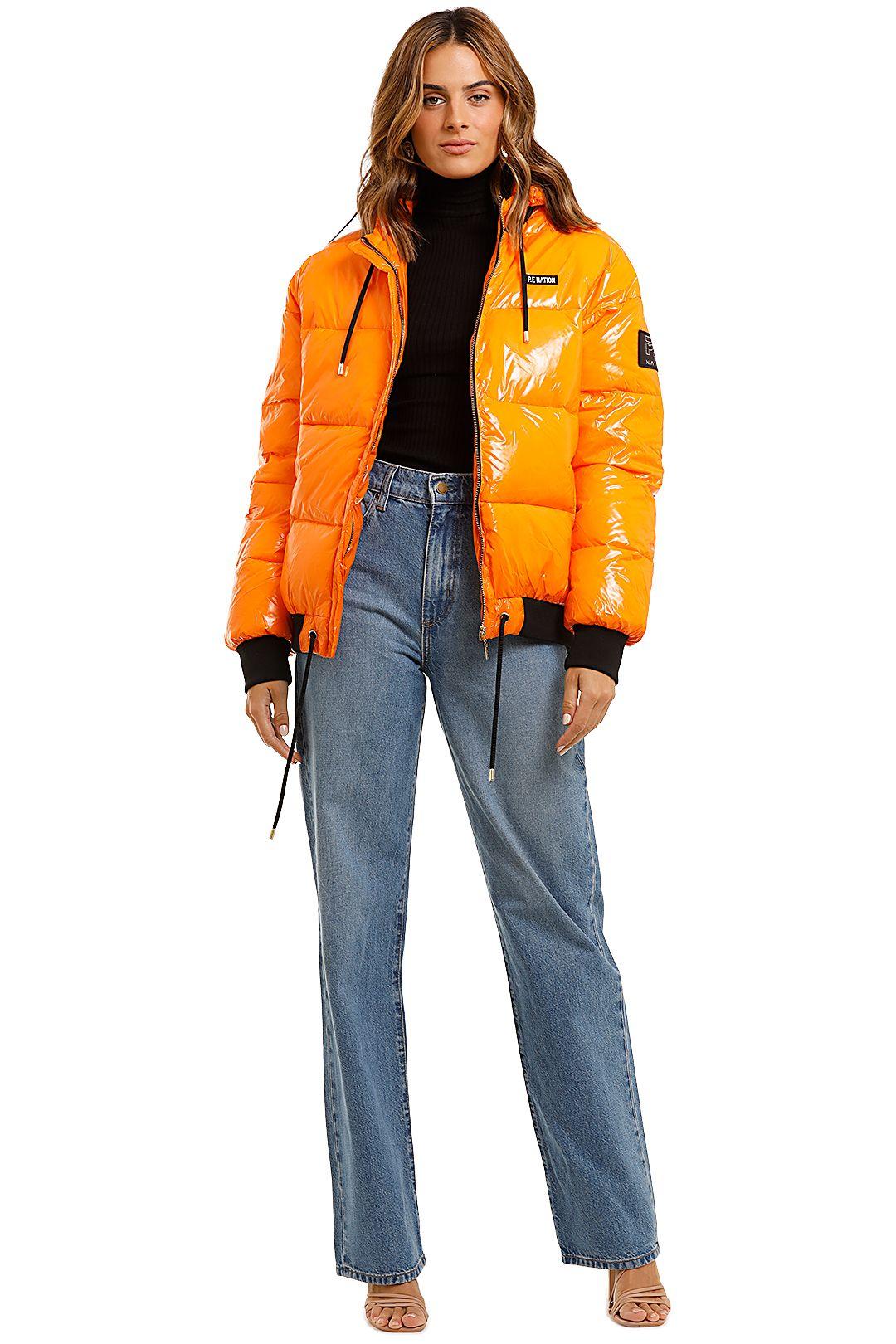 PE Nation Ringside Jacket Orange
