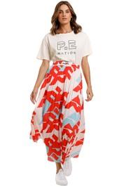 PE Nation Short Corner Skirt
