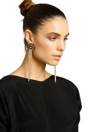 Peter Lang-Belita Earrings-Blue-Gold-Product