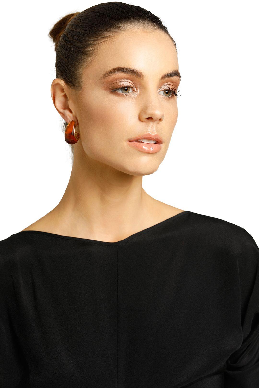 Peter Lang-Khepri Earrings-Brown-Product