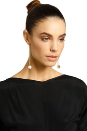 Peter Lang-Marissa Thread Earring-Gold-Product