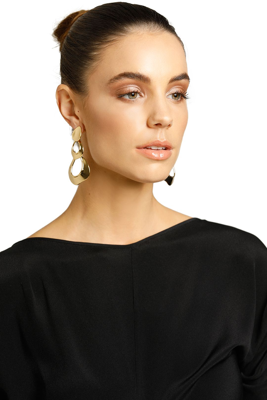 Peter Lang-Rasa Earrings-Gold-Product