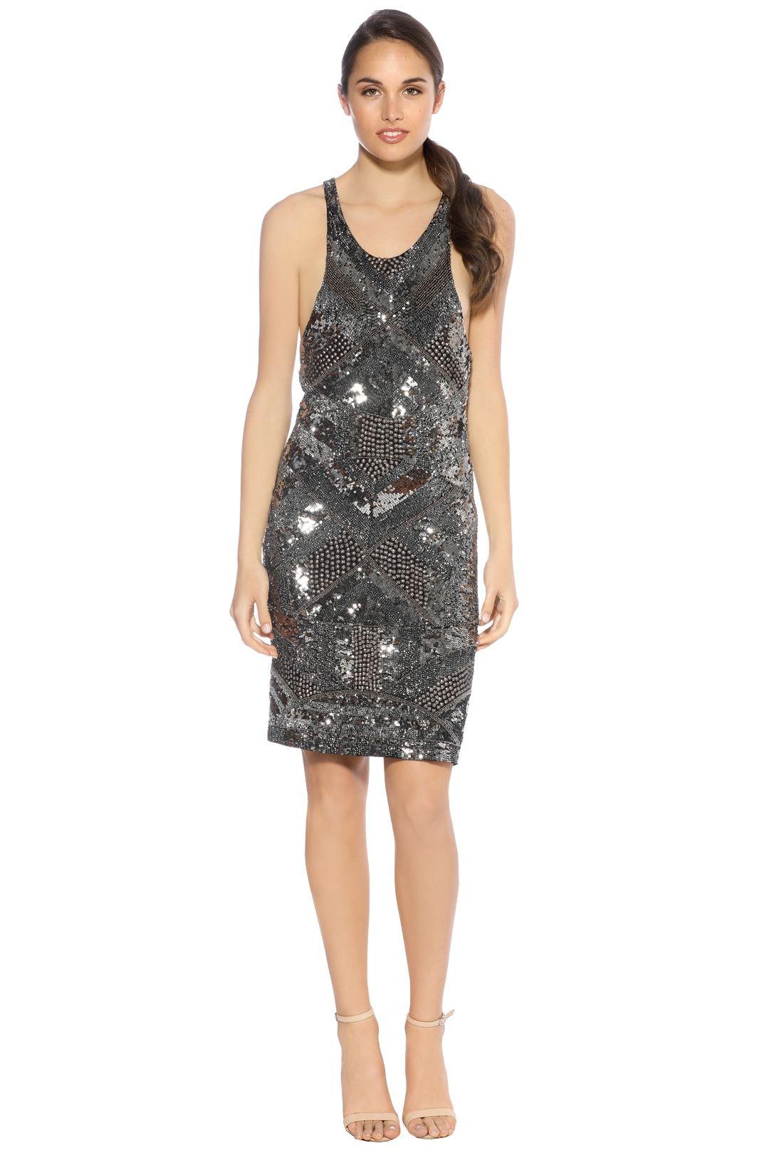Pizzuto - Magnesium Dress - Front