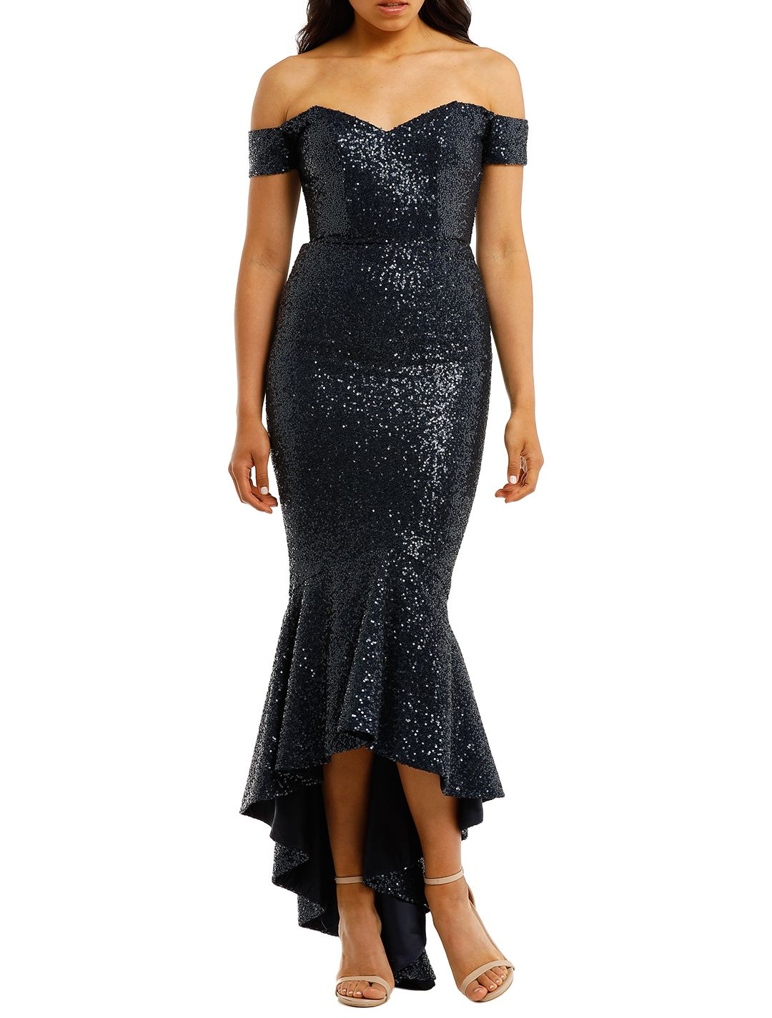 Portia-and-Scarlett-Diamond-Gown-Blue-Front