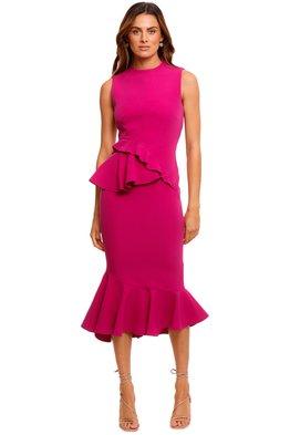 Rachel Gilbert - Arden Dress - Magenta