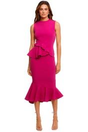 Rachel Gilbert Arden Dress Magenta