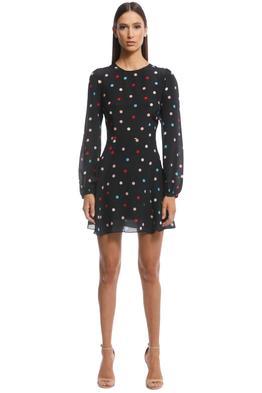 Realisation Par - The Elke Mini Dress - Post Mordern - Front