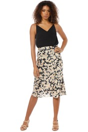 Realisation Par - The Naomi Skirt - Flower Power - Front