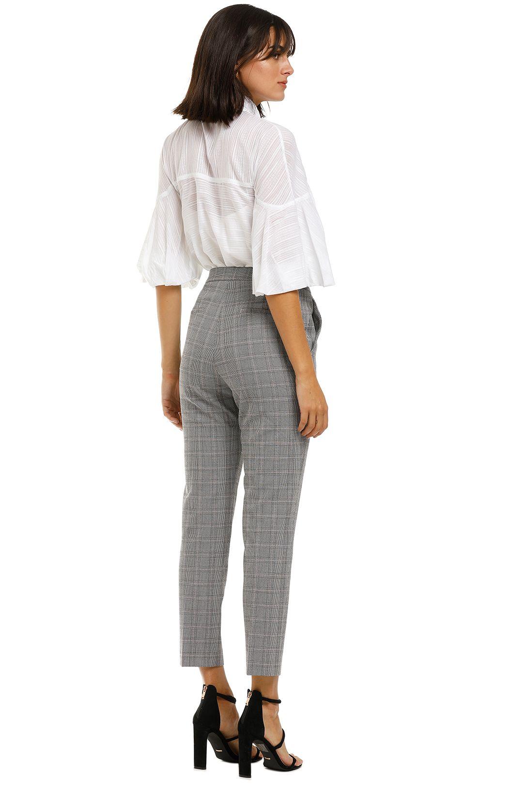 Rebecca-Margot-Slim-Pant-Grey-Check-Back