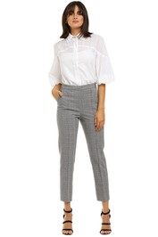 Rebecca-Margot-Slim-Pant-Grey-Check-Front