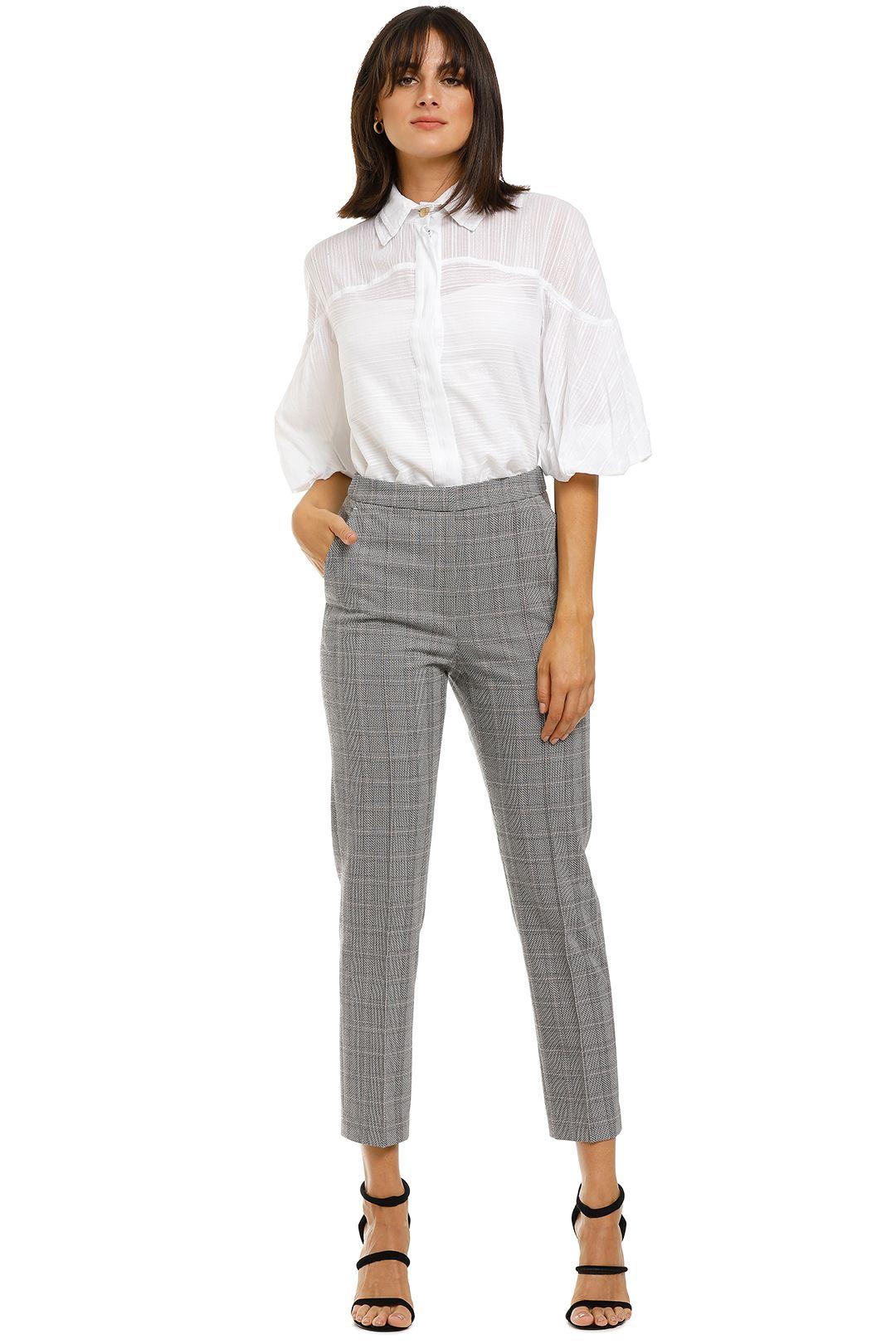 Rebecca-Margot-Slim-Pant-Grey-Check-Front