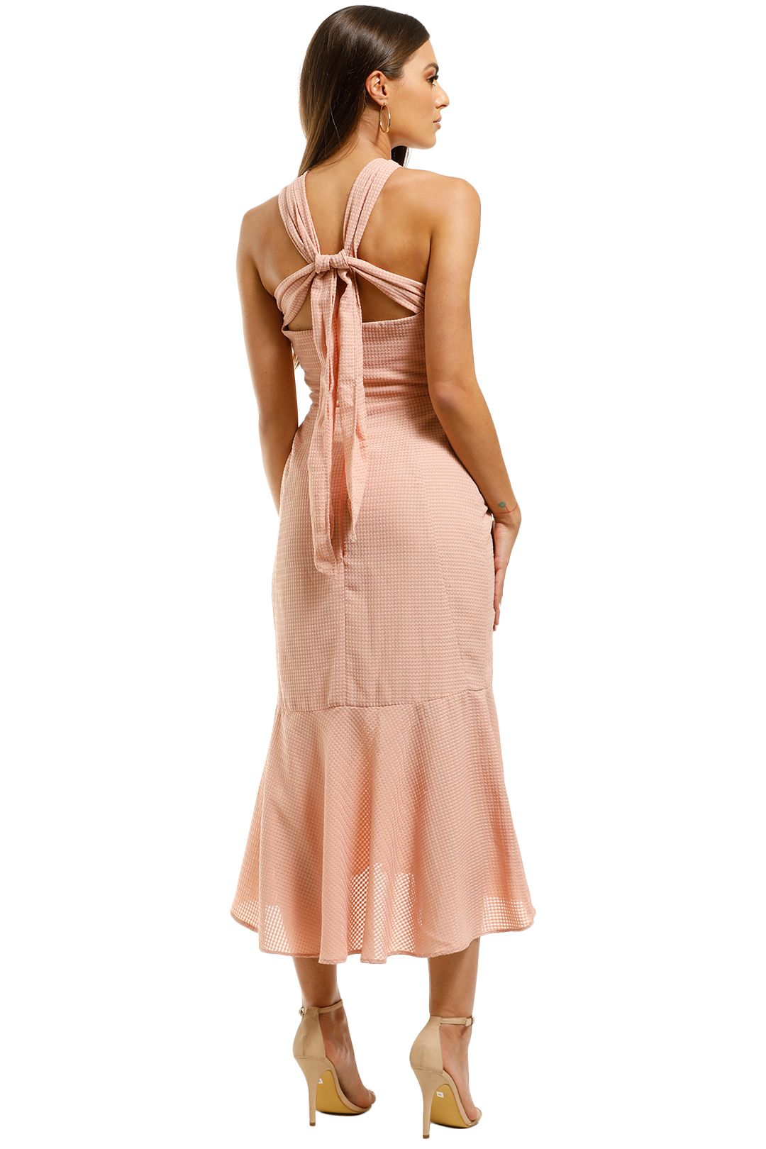 Rebecca-Vallance-Amnrosia-Halter-Midi-Dress-Clay-Back