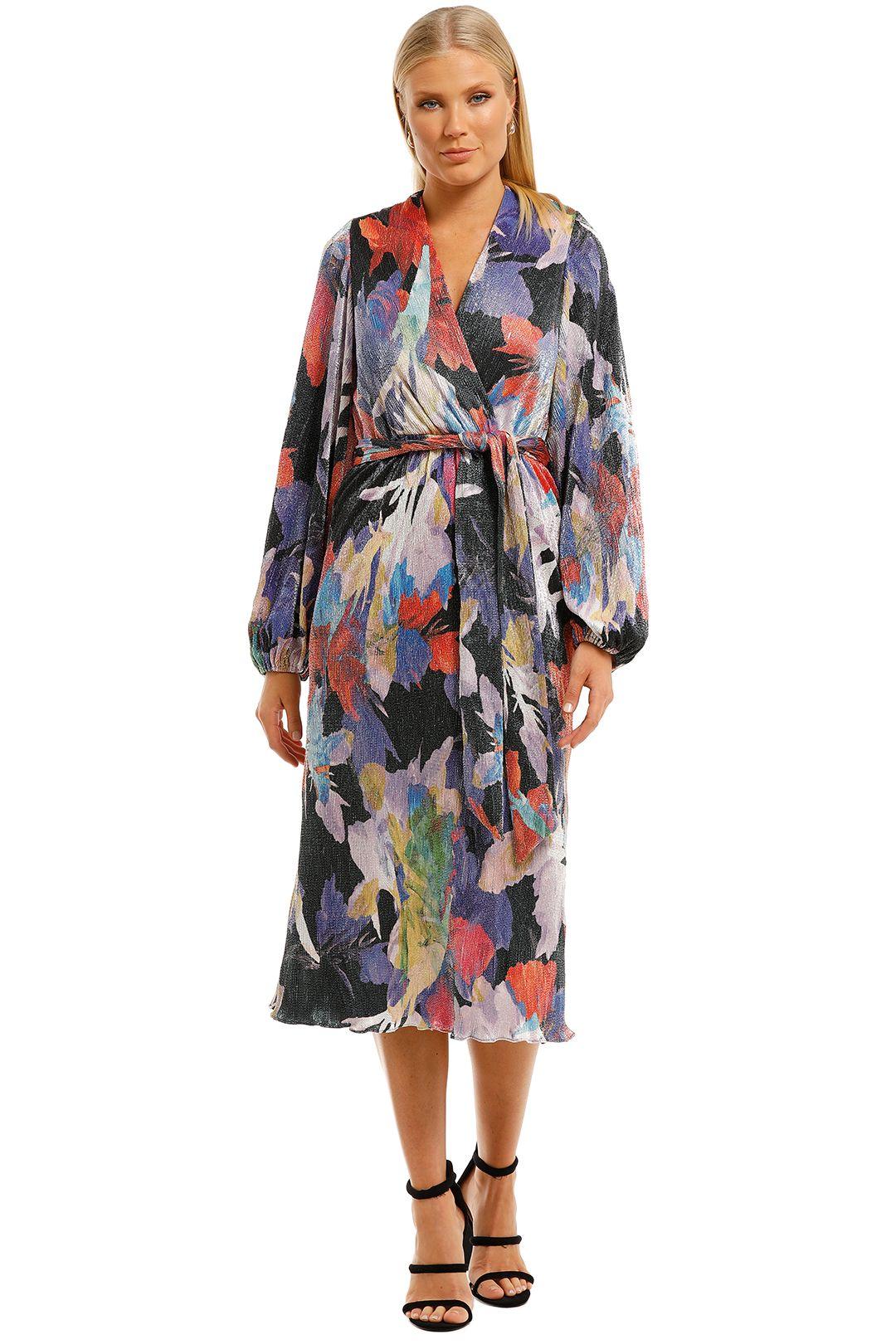 Rebecca-Vallance-Belladonna-LS-Midi-Dress-Print-Front