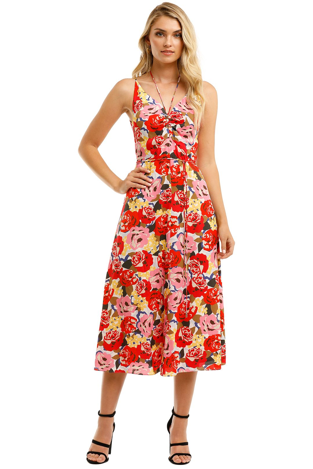 Rebecca-Vallance-Blume-Tie-Midi-Dress-Front