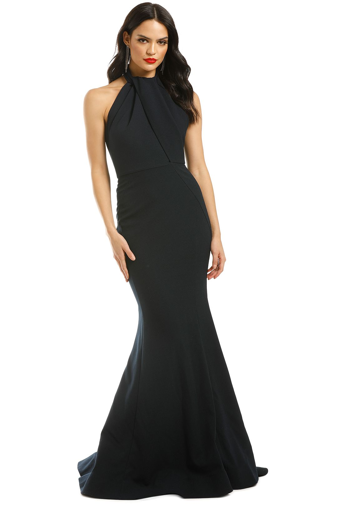 Rebecca-Vallance-Carla-Tie-Back-Gown-Navy-Front