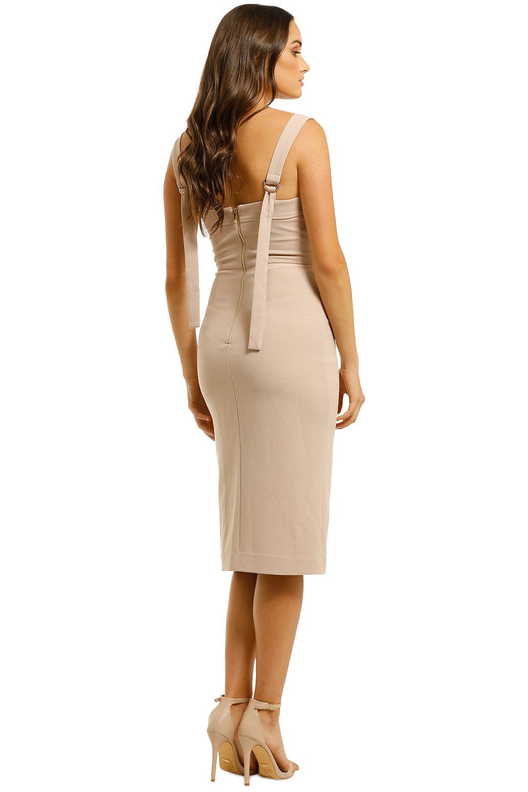Rebecca-Vallance-Celestina-Tie-Dress-Nude-Back
