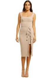 Rebecca-Vallance-Celestina-Tie-Dress-Nude-Front