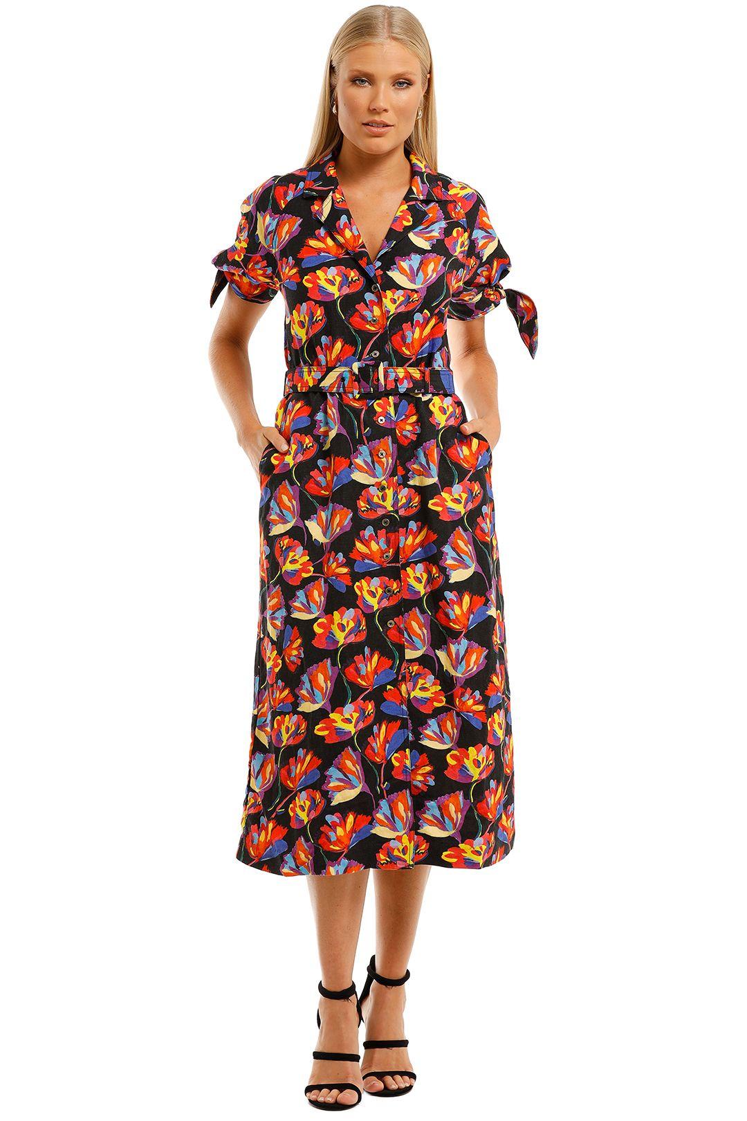 Rebecca-Vallance-Cintia-SS-Mid-Dress-Print-Front