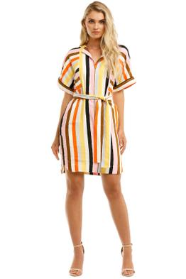 Rebecca-Vallance-Franklin-Mini-Dress-Stripe-Front