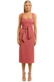 Rebecca-Vallance-Greta-Midi-Dress-Pink-Front