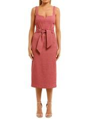 Rebecca-Vallance-Greta-Midi-Dress-Pink-Front