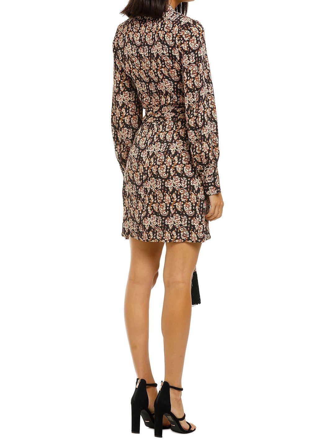 Rebecca-Vallance-Josephine-LS-Mini-Dress-Print-Back