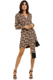 Rebecca-Vallance-Josephine-LS-Mini-Dress-Print-Front