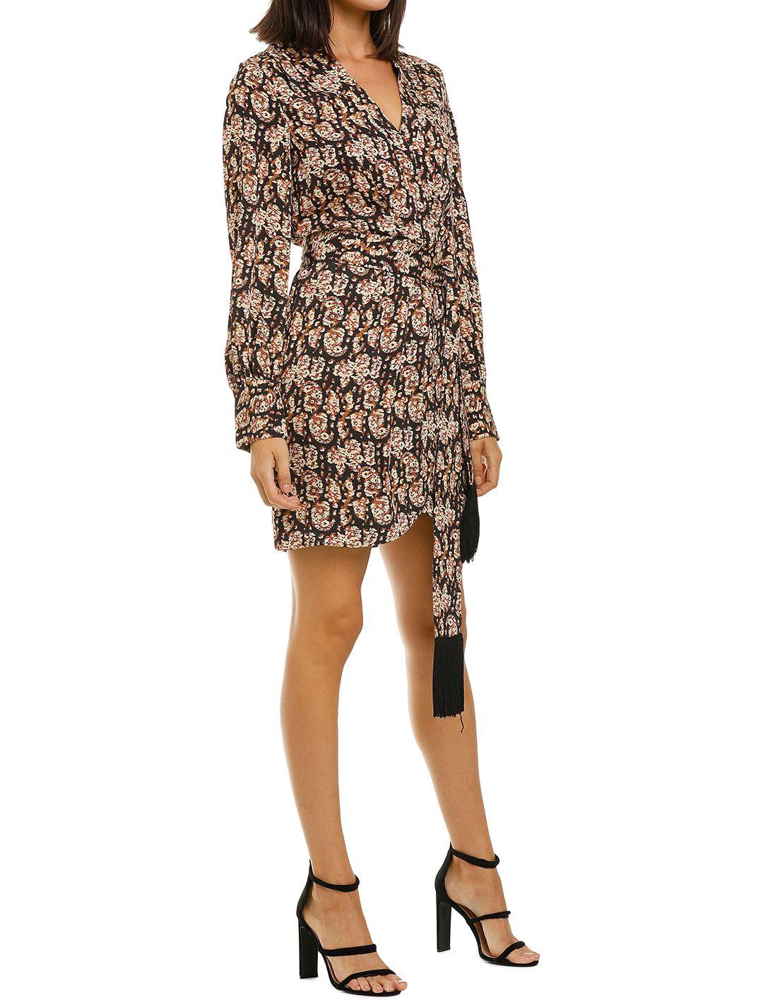 Rebecca-Vallance-Josephine-LS-Mini-Dress-Print-Side
