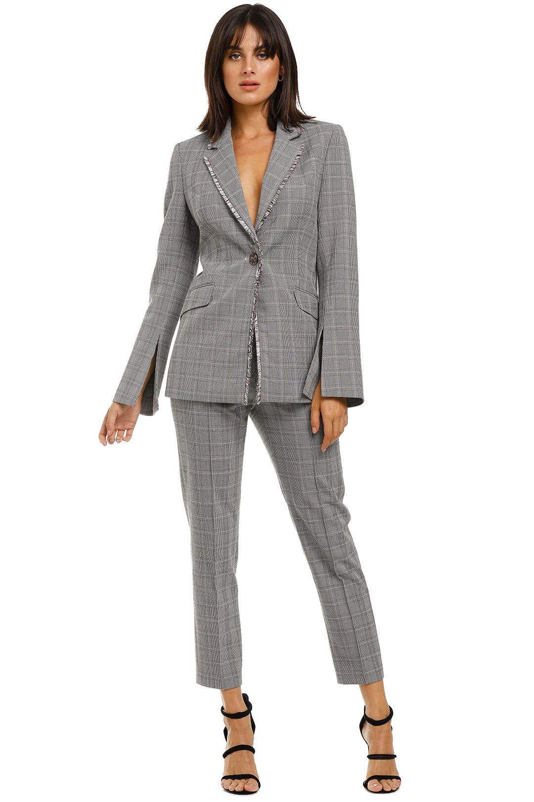 Rebecca-Vallance-Margot-Blazer-and-Slim-Pant-Set-Grey-Check-Front
