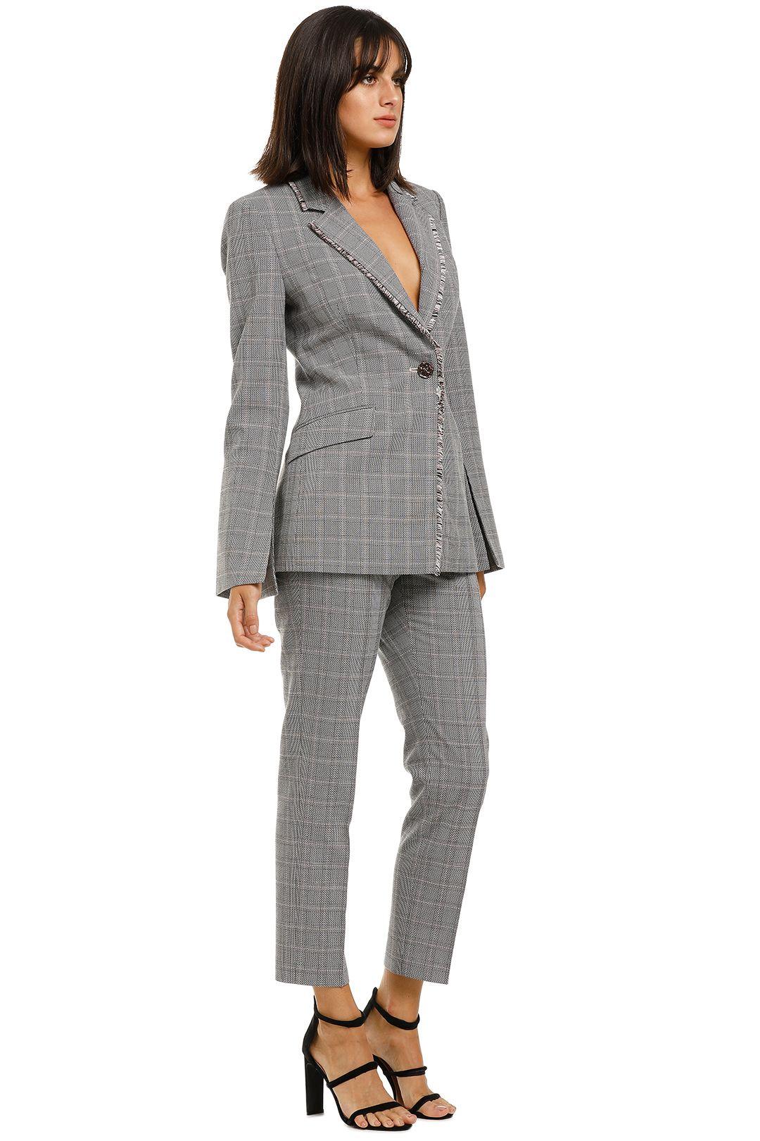 Rebecca-Vallance-Margot-Blazer-and-Slim-Pant-Set-Grey-Check-Side