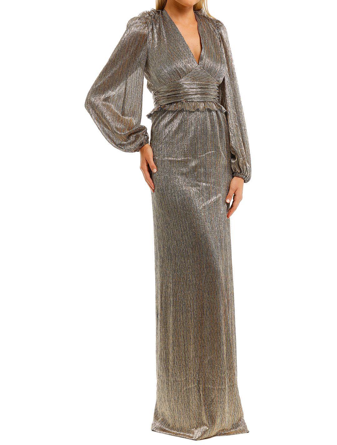 Rebecca-Vallance-Rivero-LS-Gown-Gold-Side