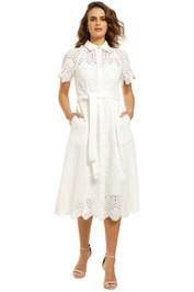 Rebecca-Vallance-Savannah-SS-Midi-Dress-Ivory-Front