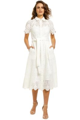 Rebecca-Vallance-Savannah-SS-Midi-Dress-Ivory-Front