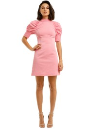 Rebecca-Vallance-Winslow-SS-Mini-Dress-Pink-Front
