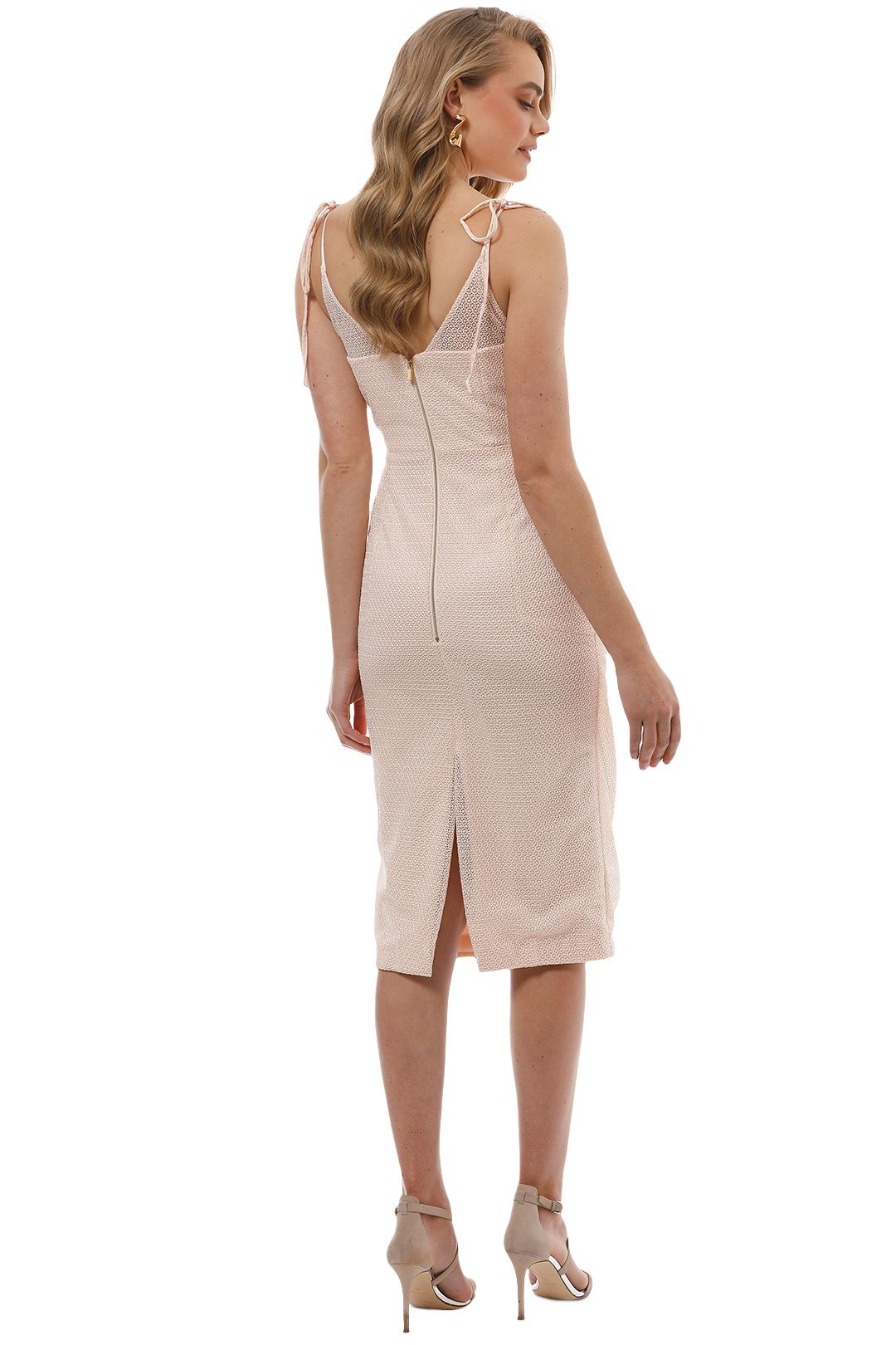 Rebecca Vallance - Avignon Dress - Nude - Back