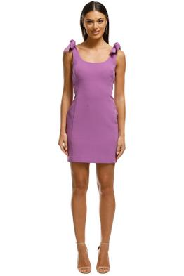 Rebecca Vallance - Dahlia Mini Dress - Purple - Front